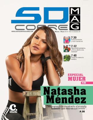 Portada Revista: Natasha Méndez